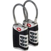 Lewis N. Clark TSA Cable Luggage Lock